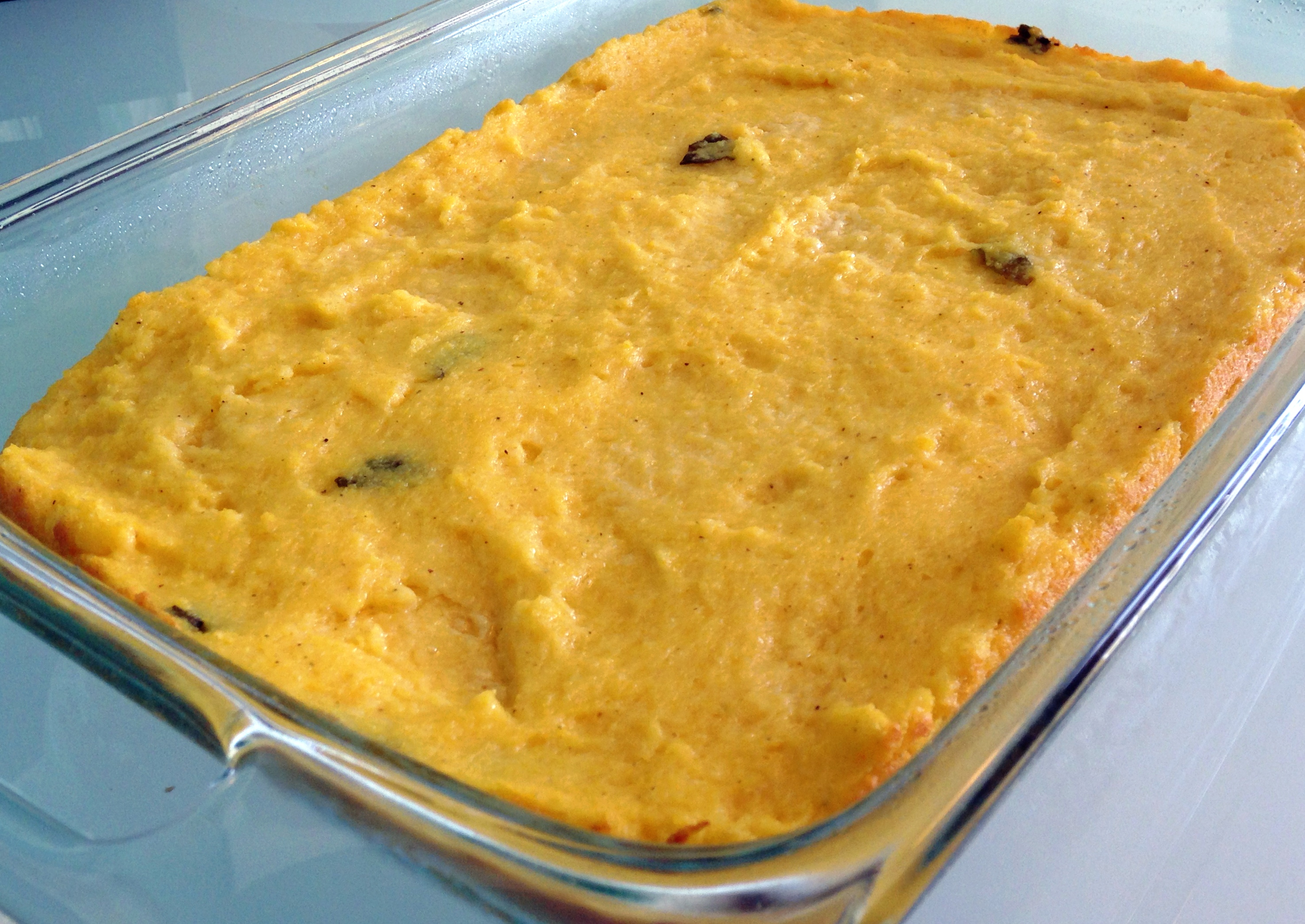 Oven Baked Polenta - sometimes you need to cook